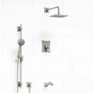 Shower Tub Faucet with Spout